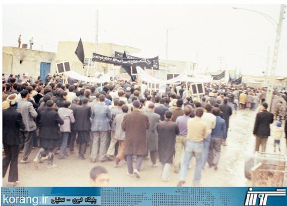 تصاویر دیده نشده از روزهای انقلاب مردم کبودراهنگ