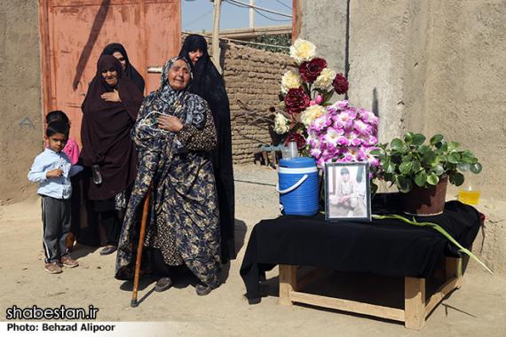 تشییع و خاکسپاری دو شهید گمنام در شیرین سو + تصاویر