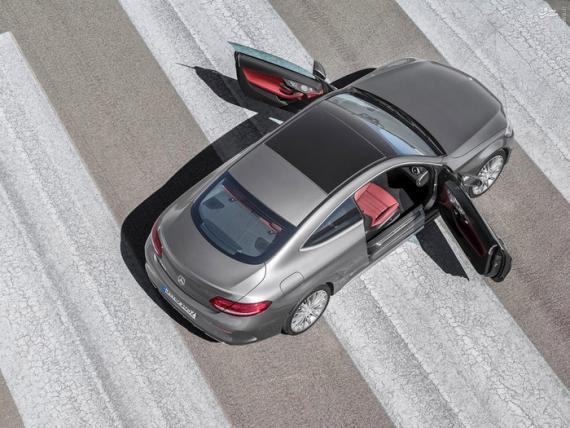 رونمایی بنز از یک خودروی زیبا/تصاویر