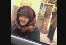 رجز خوانی یک پیرزن سوری برای تروریست های داعش