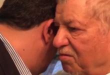 فیلم/ خداحافظی هاشمی با پسرش