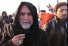 فیلم/ اشک های سردار همدانی در راهپیمایی اربعین