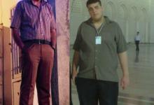 جوان کبودراهنگی وزن خود را از 185 به 115 کیلوگرم رساند + فیلم