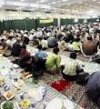 اطعام 15 هزار نفر در مساجد کبودراهنگ